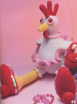 Betty de kip is een echte tuttebel met ....
