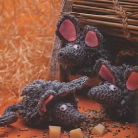 Kleine ondeugende muisjes.