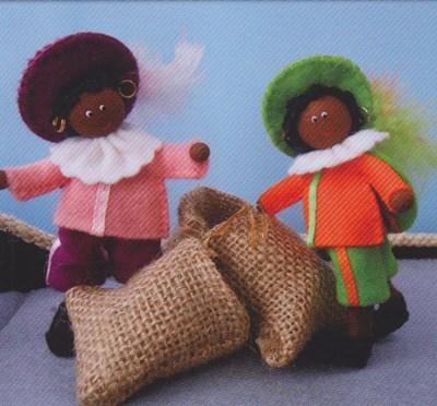 Vilt patroon Zwarte Piet