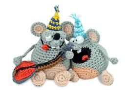 Feestbeest muis met open of dichte ....