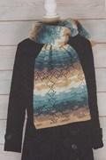 Haakpatroon sjaal, gemaakt van ....