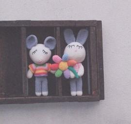 Muis en konijn