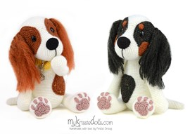 Haakpatroon Cavalier King Charles ....