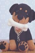 Haakpatroon Rottweiler Boris, gemaakt ....