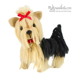 Haakpatroon Yorkshire Terrier Fifi, dit ....