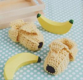 Bananen slofjes