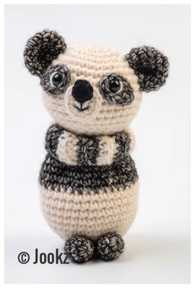 Haakpatroon Mini koukleum Panda