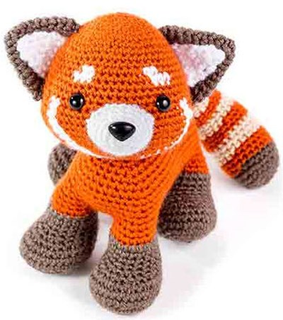 Haakpatroon Rode panda