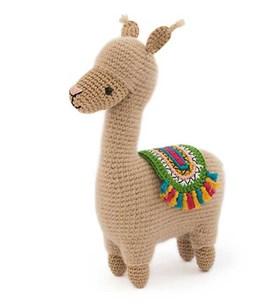 Haakpatroon Lonzo de lama, gemaakt van ....