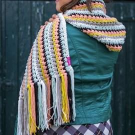 Sjaal met capuchon