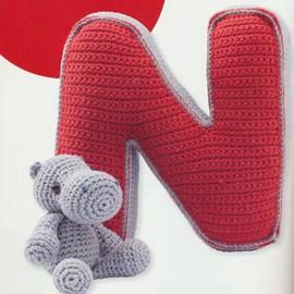 De N van nijlpaard.