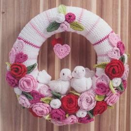 Valentijn/bruiloft krans