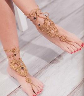 Blotevoeten sandaal