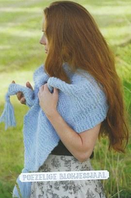 Gebreide sjaal van heerlijk zacht ....