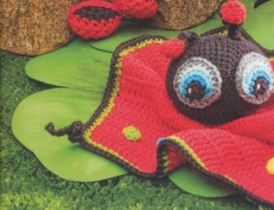 Haakpatroon Lieveheersbeestje Knuffeldoekje