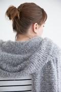 Breipatroon sjaal, gemaakt van Phil ....