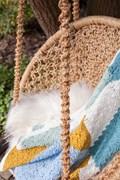 Haakpatroon ruiten deken, gemaakt van ....