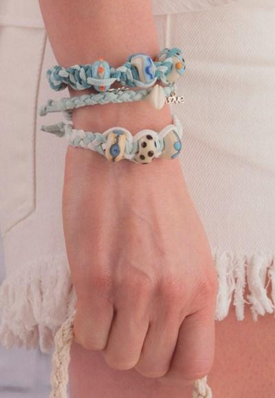 Macrame patroon Armband