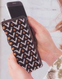 haakpatroon telefoonhoesje