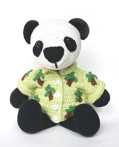 Haakpatroon Pandabeer