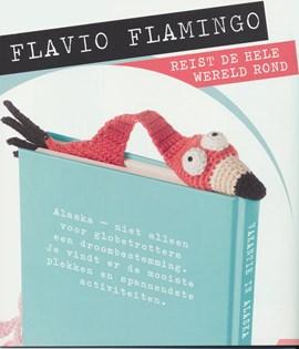 Boekenlegger Flamingo