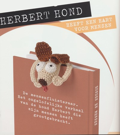 Haakpatroon Boekenlegger hond