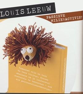 Boekenlegger leeuw