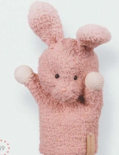 Haakpatroon Handpop konijn