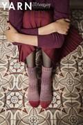 Breipatroon sokken, gemaakt van ....