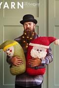 Haakpatroon kerstman en elf knuffel, ....