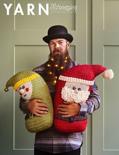 Haakpatroon Kerstmannetjes