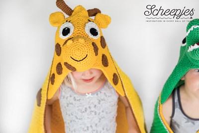 Haakpatroon Giraffe cape