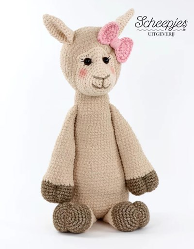 Haakpatroon Alpaca Bella