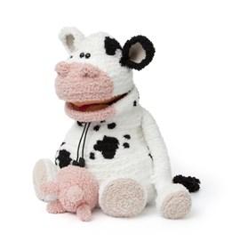 Haakpatroon rugzak in koe variant, ....