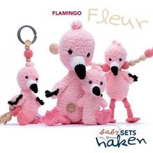 Babyset Flamingo Fleur