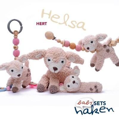 Haakpatroon Babyset Hertje Helsa