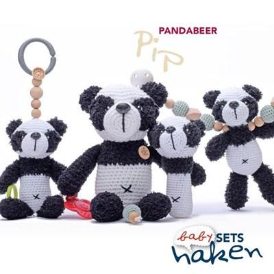 Haakpatroon Babyset Pandabeer