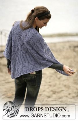 Sjaal met bladmotief