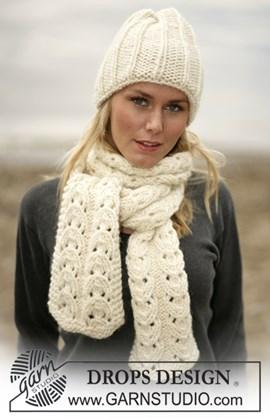 DROPS breipatroon: Muts en sjaal van ....