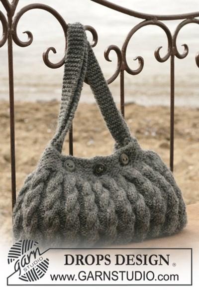 Breipatroon Tas met kabelpatroon