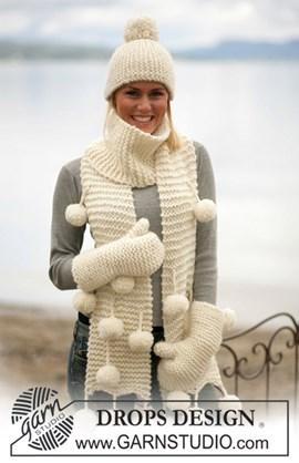 DROPS breipatroon: Muts, sjaal en ....