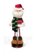 Haakpatroon kerstman met broek in ....