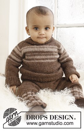 Gebreide trui met raglan van Lima.