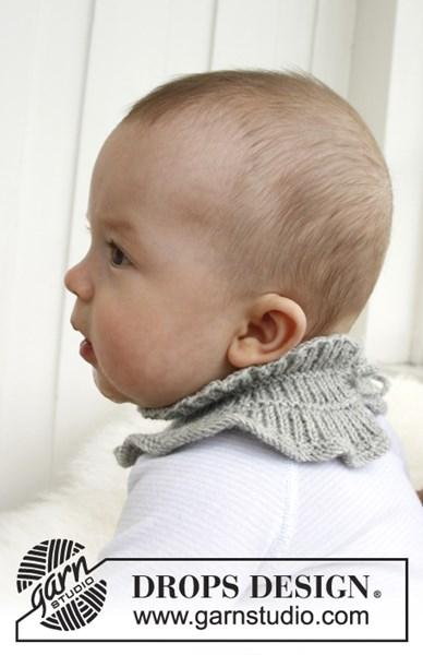 Brei- en haakpatroon Gebreid babysjaaltje
