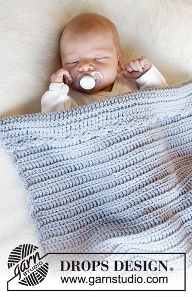 Haakpatroon deken voor wieg en ledikant