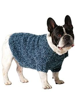 Breipatroon voor jasje hond