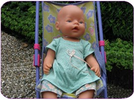 Babyborn jurkje legging