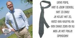 Haakpatroon stropdas, leuk cadeau voor ....