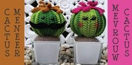 Haakpatroon meneer en mevrouw cactus