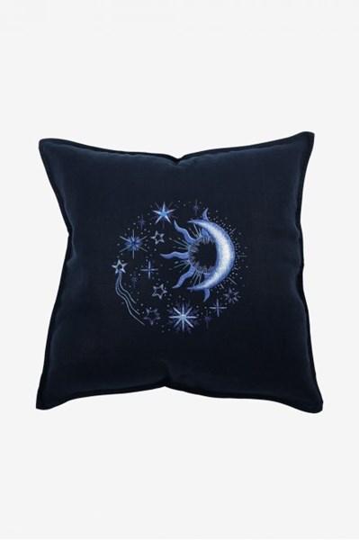 Borduurpatroon Borduurpatroon zon maan sterren